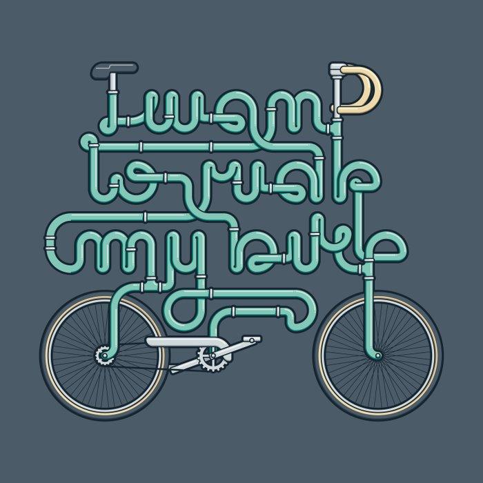 I want to ride my bike Comforters