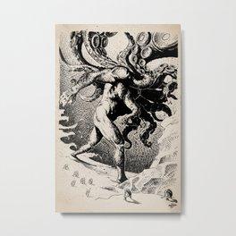 Nyarlathotep by Anna Helena Szymborska Metal Print