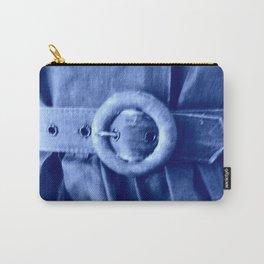 Blue Vintage belt Carry-All Pouch