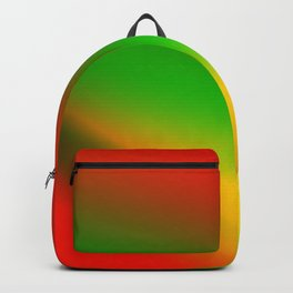 red blue green yellow texture design Backpack