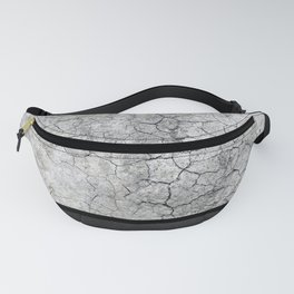 Rock the Casbah // concrete and paint colorblock collage Fanny Pack