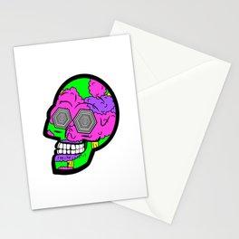Psych Skull Stationery Cards