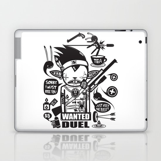 SORRY I MUST KILL YOU ! - DUEL Laptop & iPad Skin