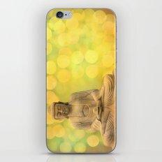 Buddha light yellow iPhone & iPod Skin