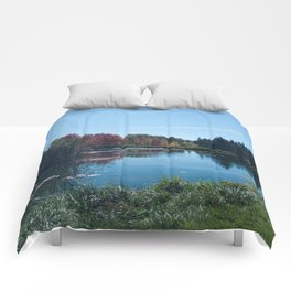 Fall Landscape Photography Print Comforters