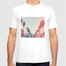 La La La MEDIUM Mens Fitted Tee White