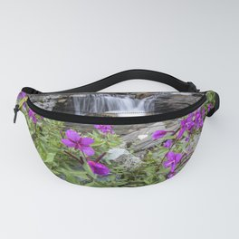 Secluded Waterfall Fanny Pack