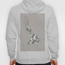 Japanese Couture Fashion Illustration Hoody