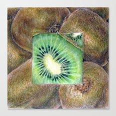 Fresh: Kiwi Canvas Print