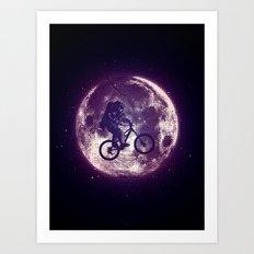 E.T.B. (variant 2) Art Print