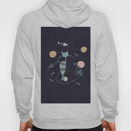 Cats are the best friends Hoody