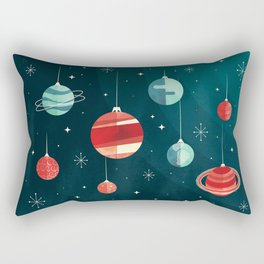 Joy to the Universe (in Teal) Rectangular Pillow