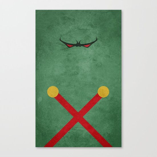 Martian Manhunter Canvas Print