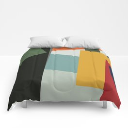 Abstract Composition 526 Comforters