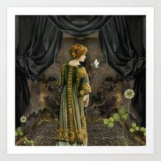 Beauty Queen Art Print