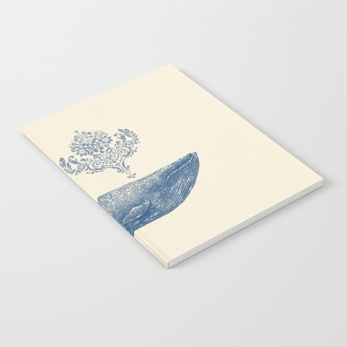The Damask Whale Notebook