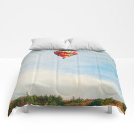 Up UP and Away Comforters
