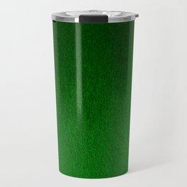 Emerald Green Ombre Design Travel Mug