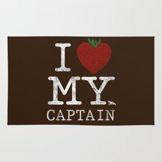 I Love My Captain Rug