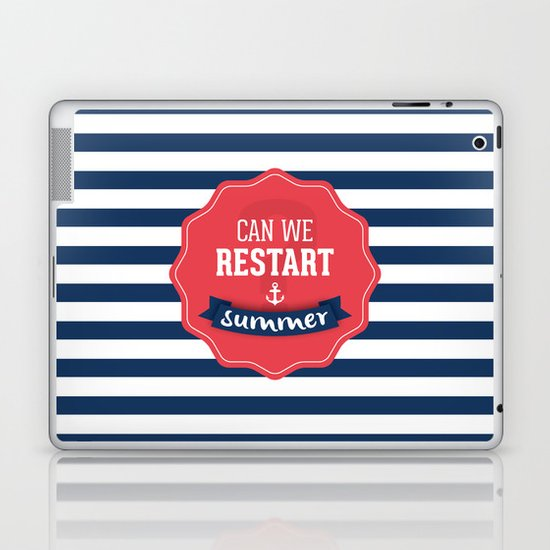 Can we restart summer Laptop & iPad Skin
