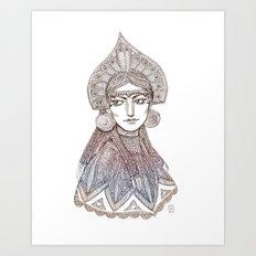 Theodora Art Print