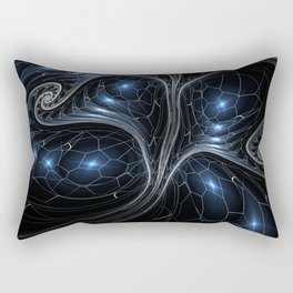 Surreal abstract fractal Rectangular Pillow