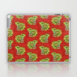 Spotted Frog Friend Pattern Laptop & iPad Skin