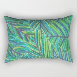 Lush Tropical Nights Rectangular Pillow