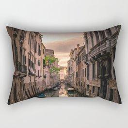 Canal of Venice Rectangular Pillow