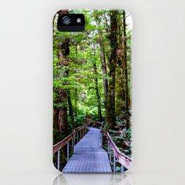 Rainforest Gallery, Warburton, Victoria iPhone Case