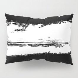 B&W Paint Pillow Sham