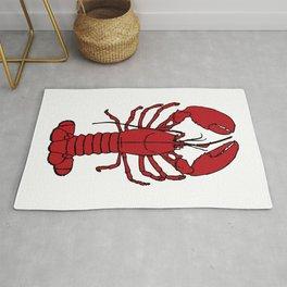 Red Lobster Rug