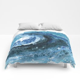 Breaking Wave Comforters