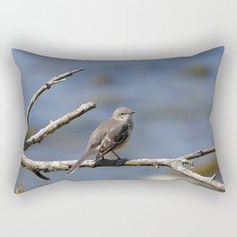 Northern Mockingbird Rectangular Pillow