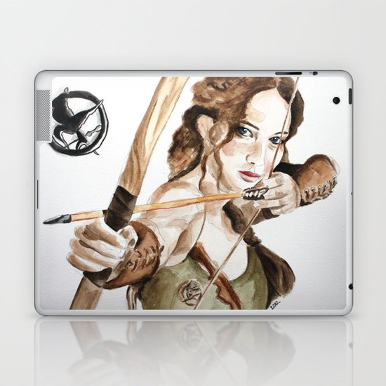Mockingjay. Katniss Everdeen. Laptop & iPad Skin