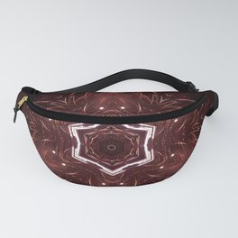 Red Fireworks Star Fanny Pack