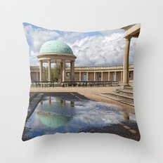 Eaton Park Bandstand, Norwich, Norfolk Throw Pillow