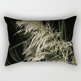 Night Weeds Rectangular Pillow
