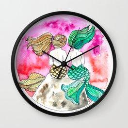 Tahid y Marina Wall Clock
