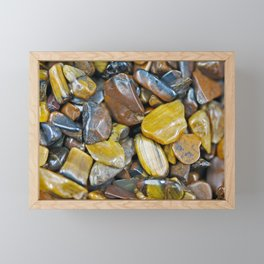 Tiger's Eye Framed Mini Art Print