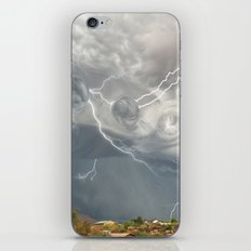 Arrival of the Monsoon Storm Generator iPhone & iPod Skin