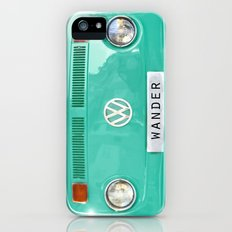 Wander wolkswagen. Summer dreams. Green Slim Case iPhone (5, 5s)