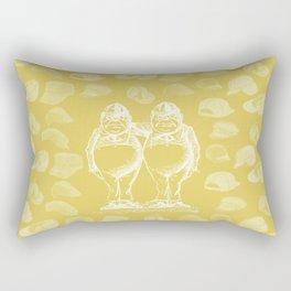 Tweedledum, Tweedledee and Caps Rectangular Pillow