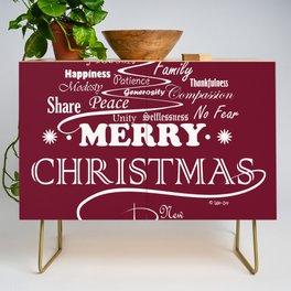 The Wishing Christmas Tree Credenza