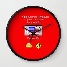 Make America 4 the Rich Again Wall Clock