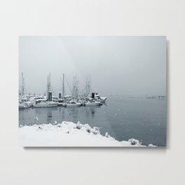 Crofton Harbour Metal Print