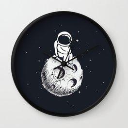 Sit Astronaut Wall Clock