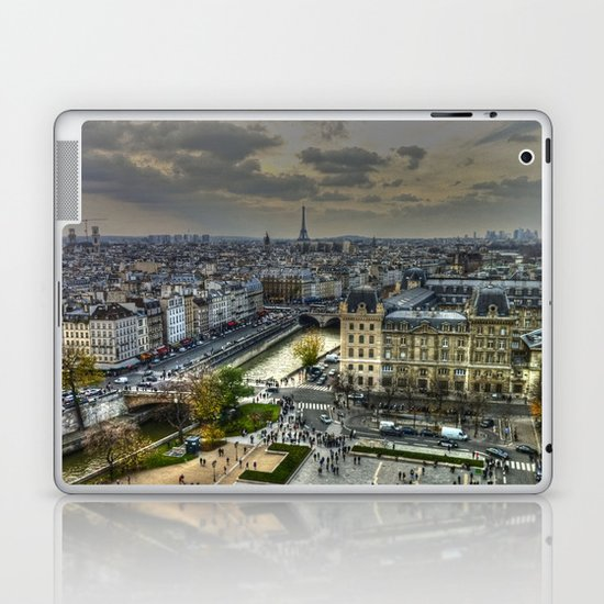 City of Paris Laptop & iPad Skin