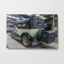 Six Cylinder Sedan Metal Print