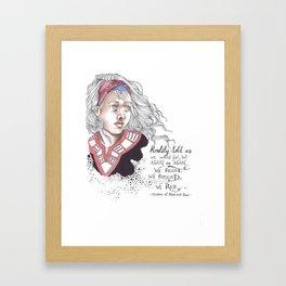 Children of blood and bone Framed Art Print